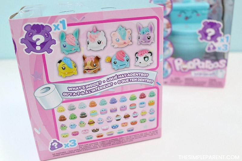 Collect all of the Pooparoos Surpriseroos figures!