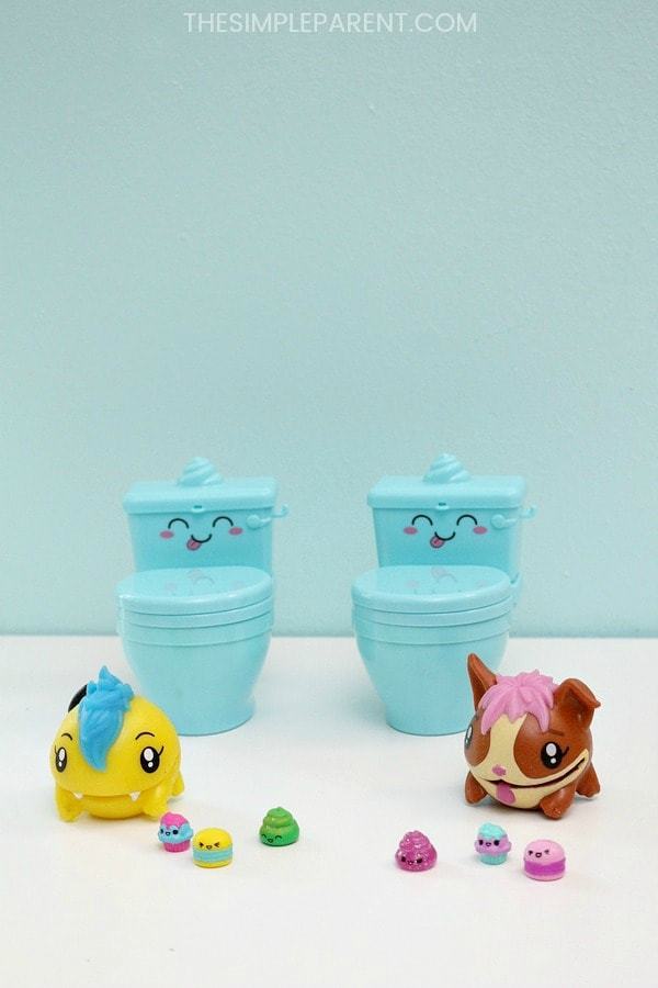 Kids will love Pooparoos Surpriseroos collectible toys.