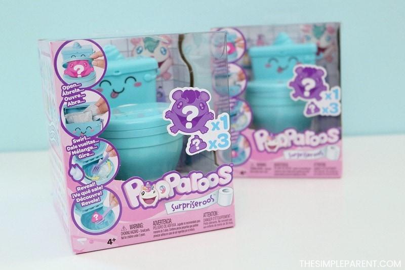 Pooparoos Surpriseroos collectible toys