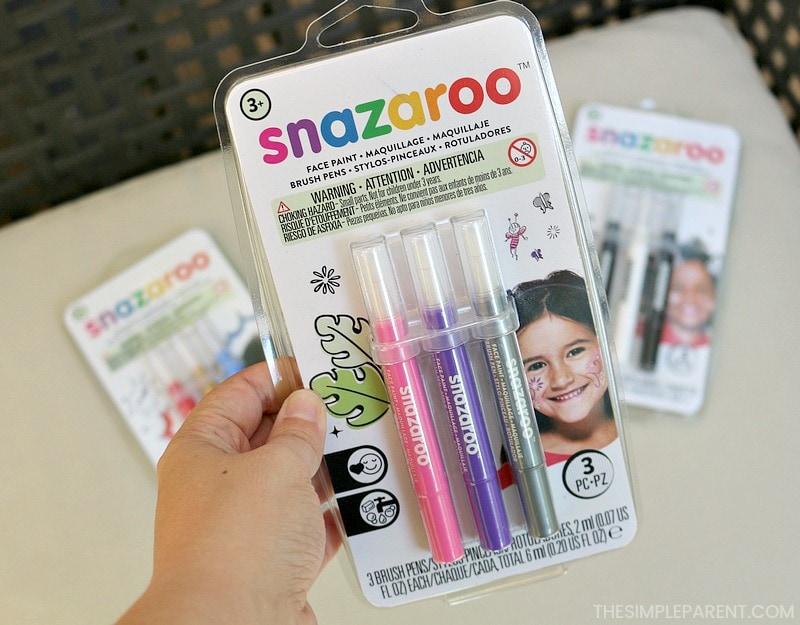 Snazaroo face painting pens.