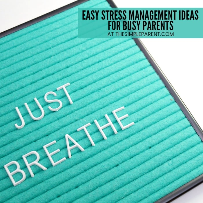 Stress Management Activities for Moms - You can use these easy techniques to help de-stress and detox your life. Self-care is important for parents and for their kids!