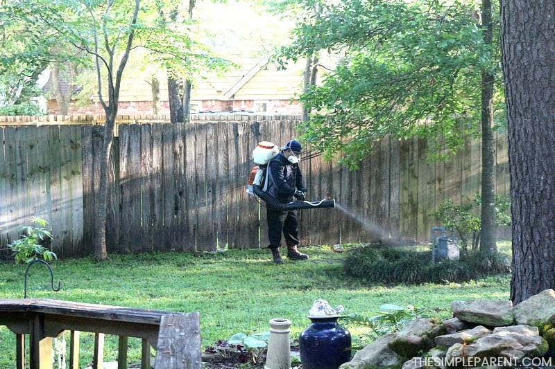 Getting The Best Mosquito Yard Spray From Mosquito Joe In The Backyard.