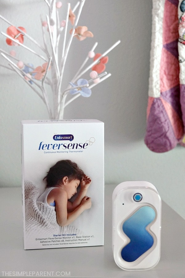 Enfasmart FeverSense thermometer is the best thermometer for kids