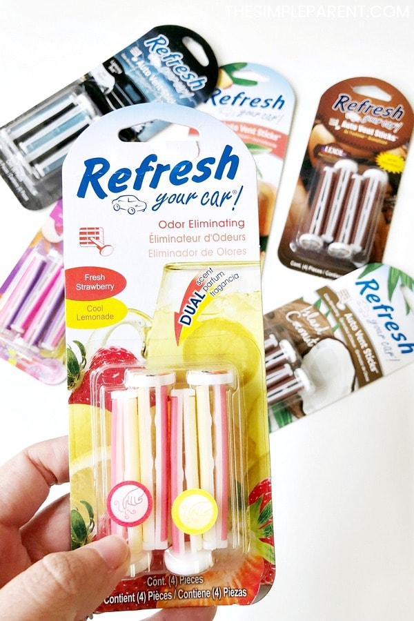 How to make your car smell good with Refresh Your Car Vent Sticks