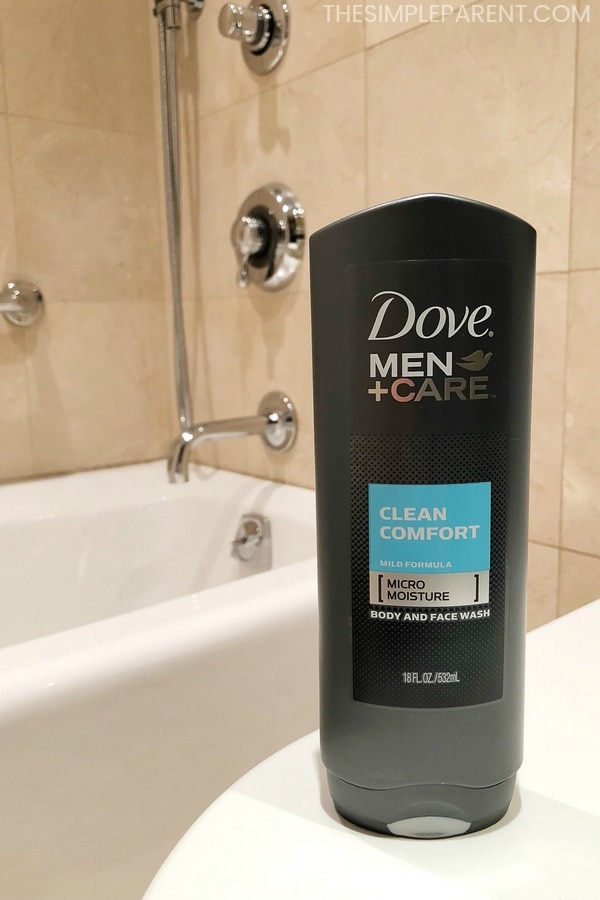 Dove Men+Care Body Wash