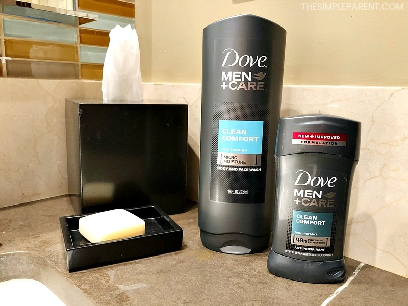 Dove Men Car products help dad take more time for self care