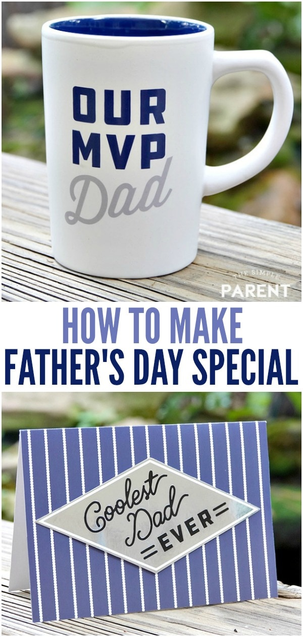 There are some very easy ways to make Father's Day special. There doesn't have to be an expensive gift or any elaborate plans. Think along the lines of homemade gifts, the gift of time and even themed gifts