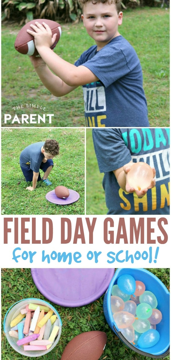 Examples of easy field day games kids can play.