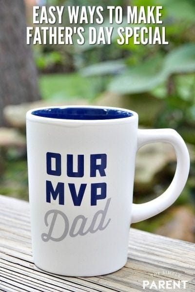Father's Day Mug - Easy Ways to Make Father's Day Special