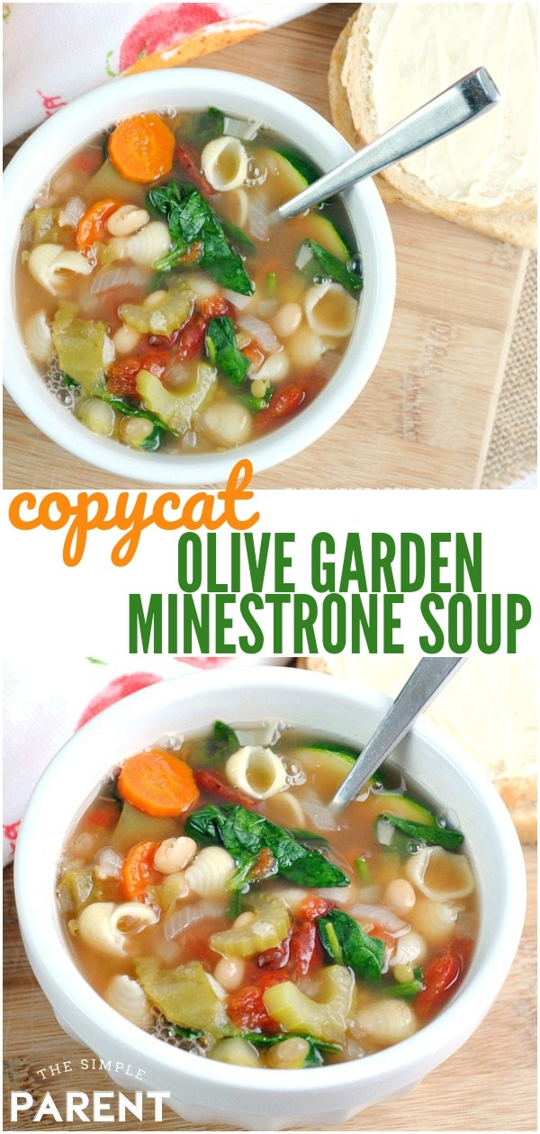 Olive Garden Minestrone Soup Recipe to Enjoy at Home!