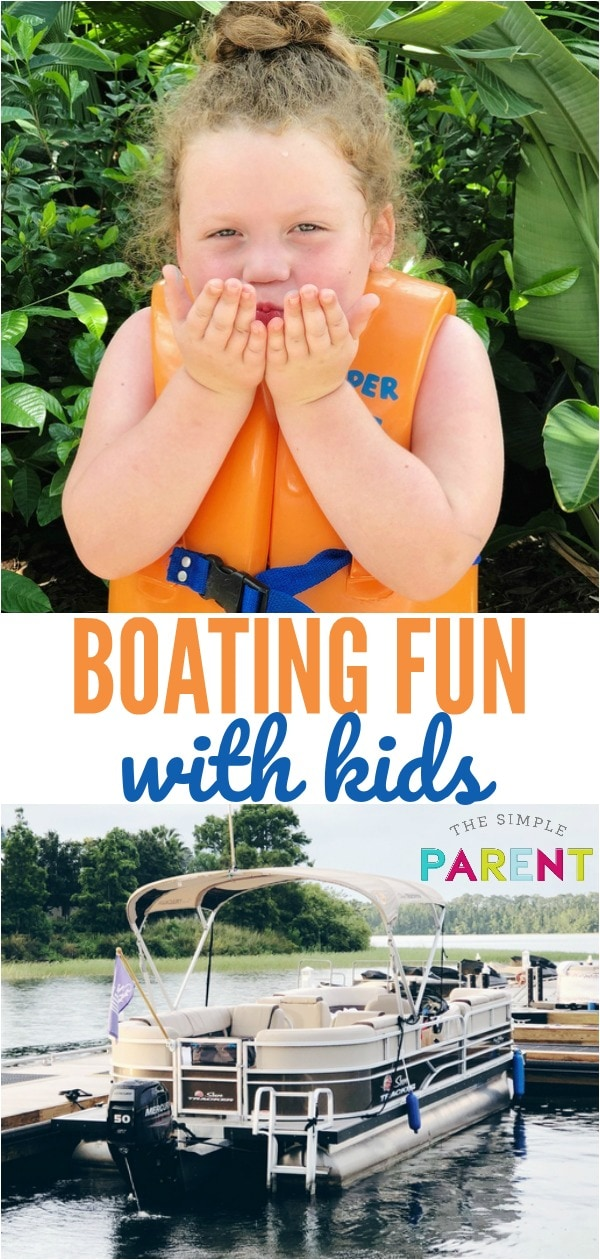 Boating with Kids can be a fun adventure full of memories! Try these easy boating tips and tricks to turn your experience on the water into a great one with your family!