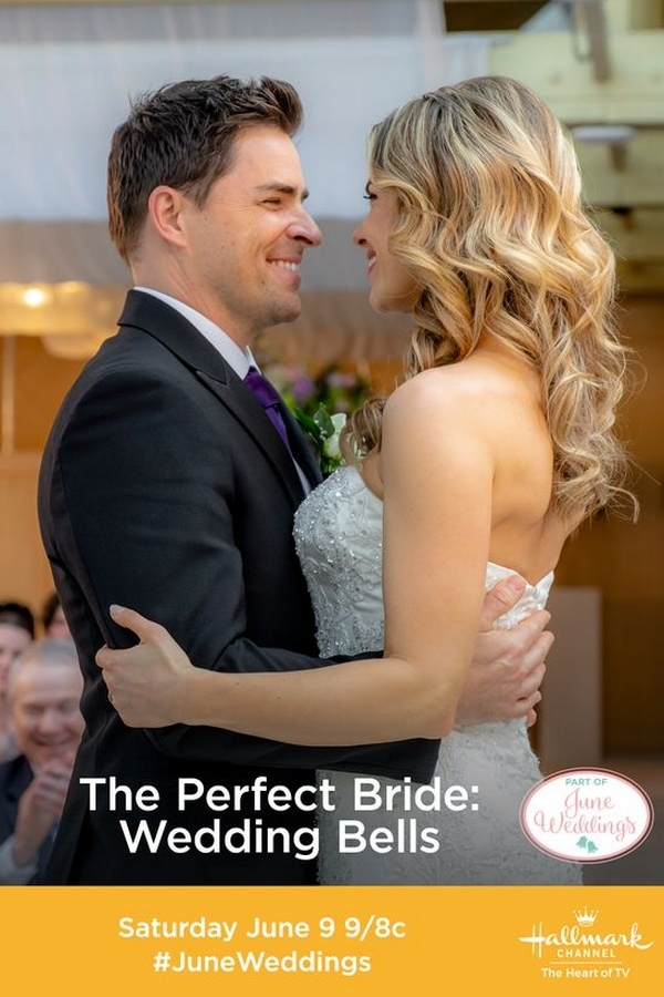 The Perfect Bride: Wedding Bells premieres on Hallmark Channel on 6/9! It's Hallmark Channel Movies time!