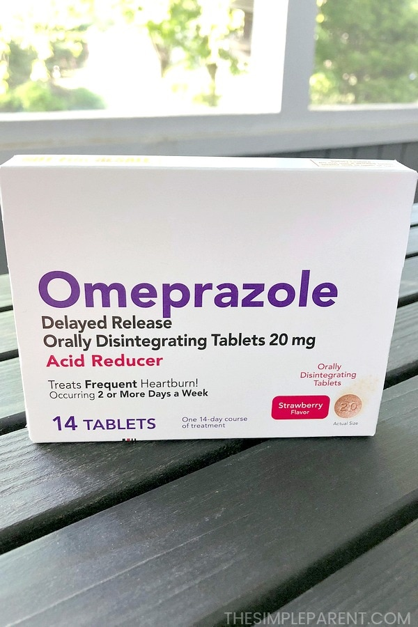 Omeprazole Orally Disintegrating Tablet for heartburn relief