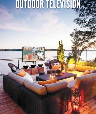 3 Reasons Your Family Needs an Outdoor Television This Summer