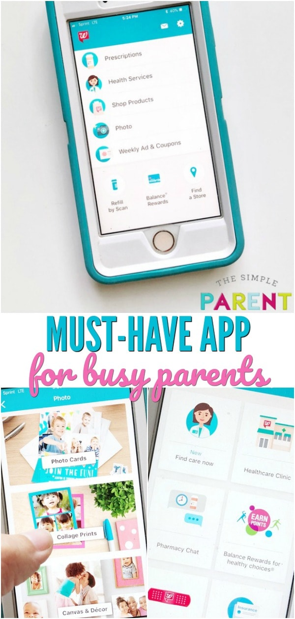 The Walgreens App is a a Must Have app for women with busy families. It's available for iPhone and Android. Refill prescriptions, talk to an online doctor, create photo gifts, and clip coupons to save money! Check out our favorite features!