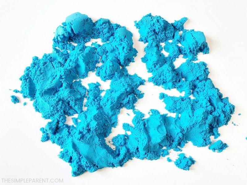 Blue Kinetic Sand
