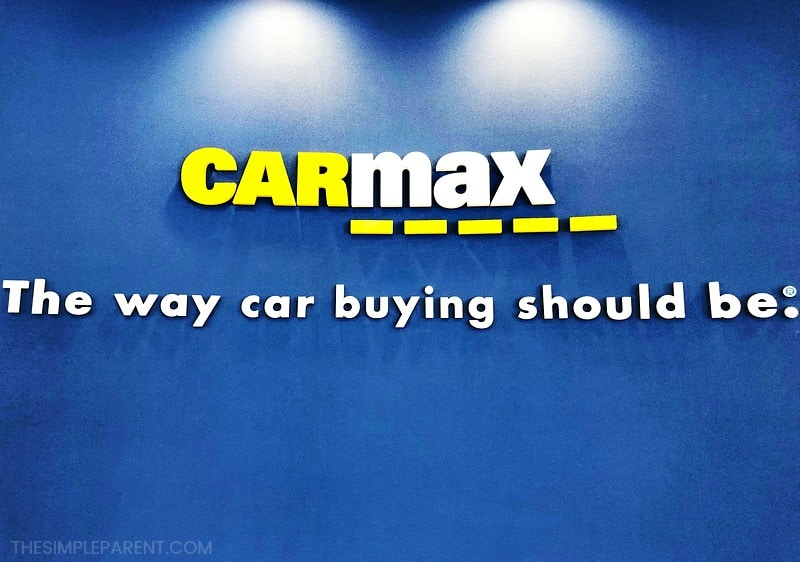 CarMax sign - The way car buying should be.