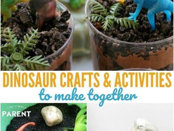 10+ Dinosaur Crafts & Activities to Celebrate Jurassic World: Fallen Kingdom