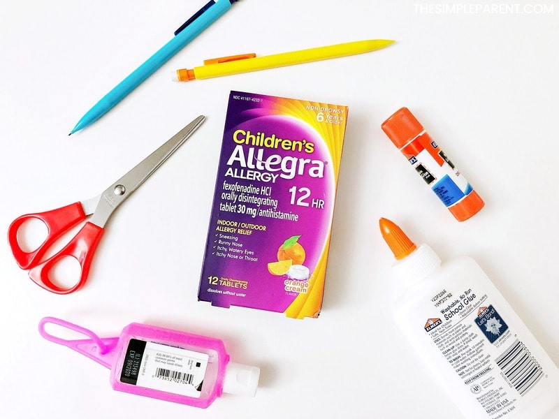 Children's Allegra helps control fall allergies at back to school time