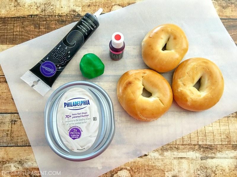 Ingredients make a cute first day of school breakfast