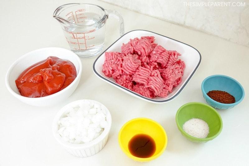 Hot dog chili recipe ingredients