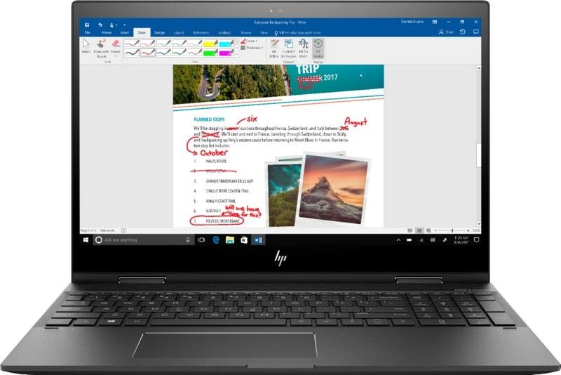 HP Envy x360 Laptop Windows Ink
