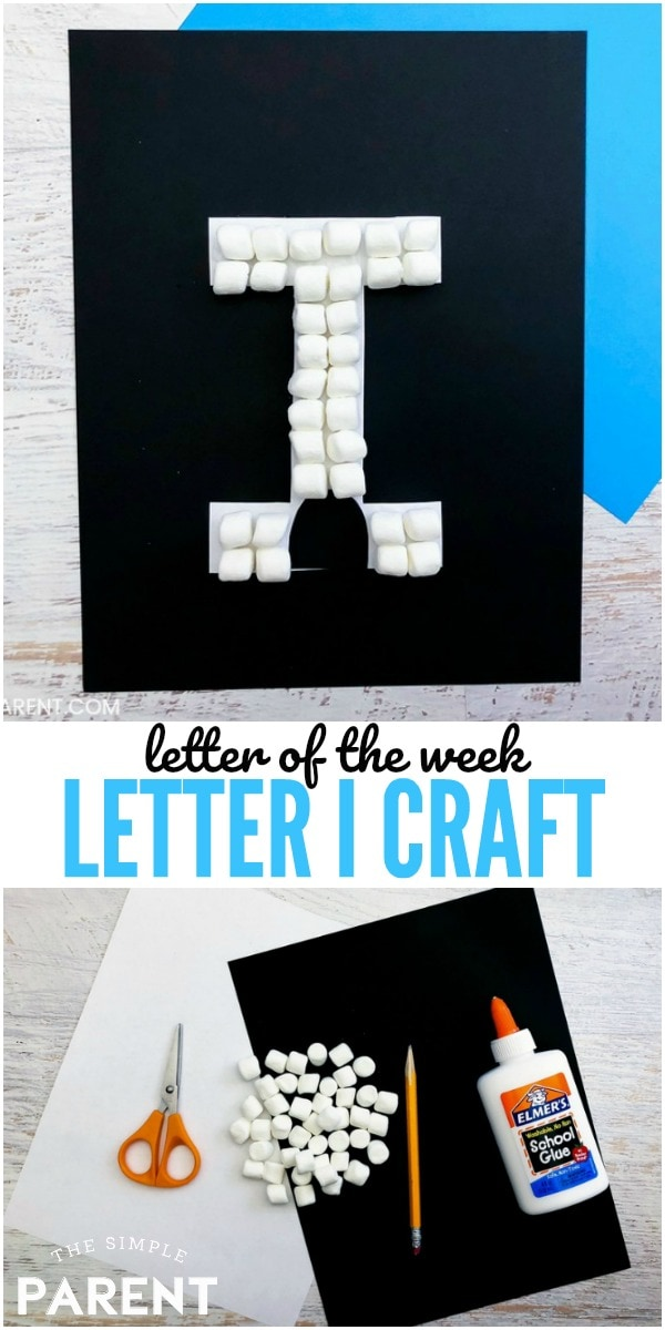 Letter of the Week Craft - Letter I Craft - I is for Igloo
