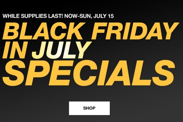 Macy's Black Friday in July Sale