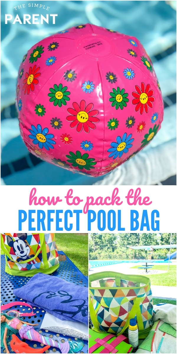 Pack the perfect pool bag for spending the day with your family. This essentials checklist will make sure you have everything you need for the kids and the adults!