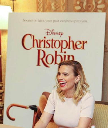 Christoper Robin Hayley Atwell Interview – Did She Cry?