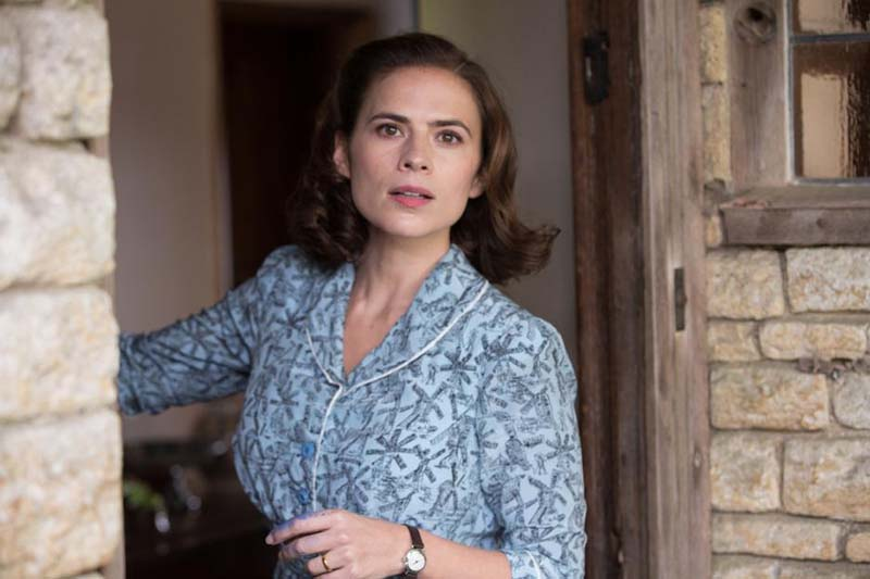 Hayley Atwell as Evelyn Robin in Christopher Robin movie