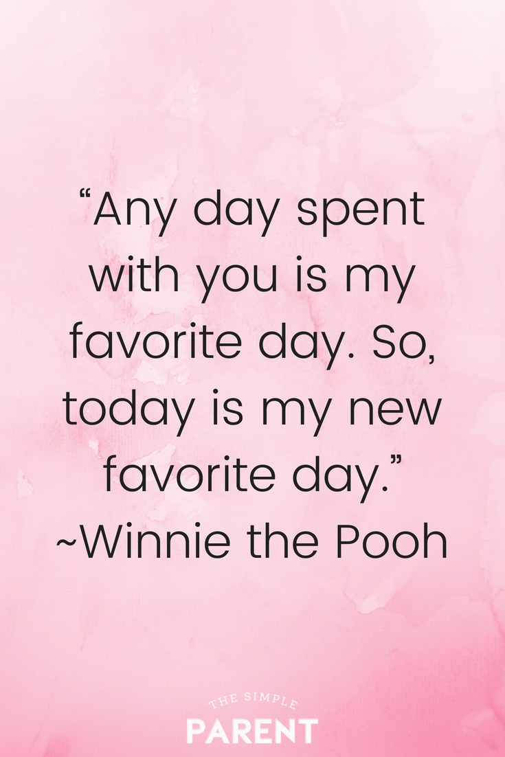 One of my favorite Pooh Bear quotes with a positive outlook