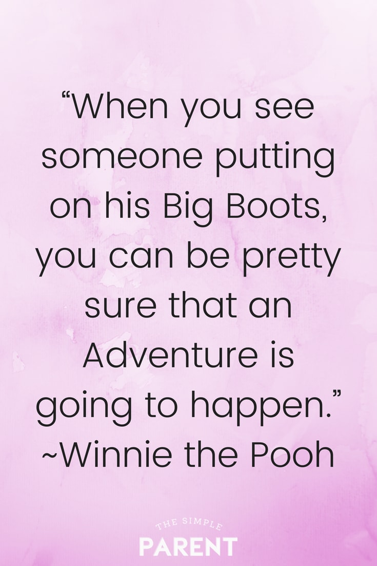 Winnie the Pooh quotes about adventure