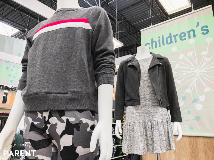 Back to school clothes for kids at Kroger Marketplace