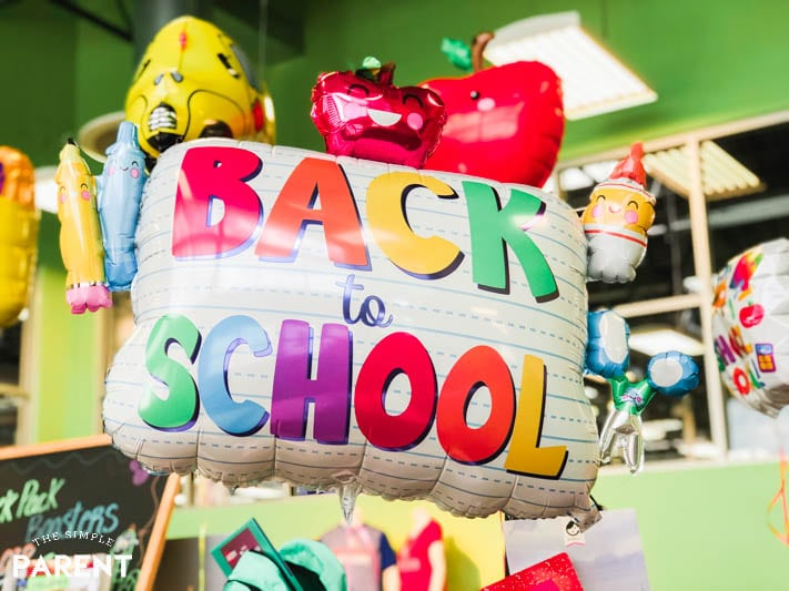 Back to School balloon at Kroger Marketplace