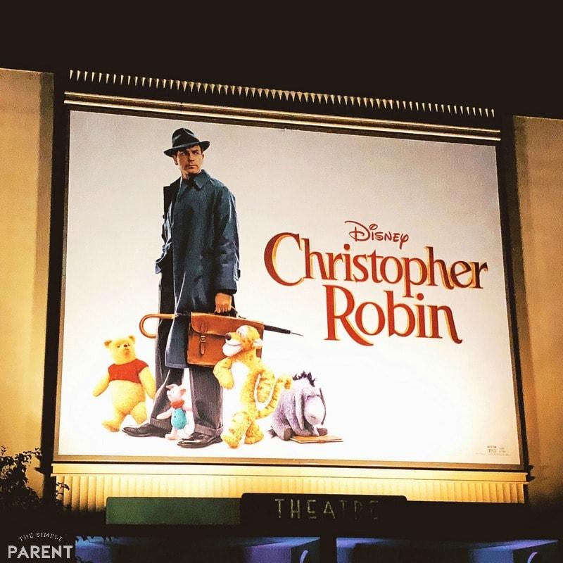 Christopher Robin movie premiere screening