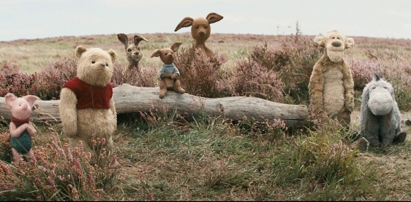 All of the characters from the movie make it a family friendly movie in this Christopher Robin movie review