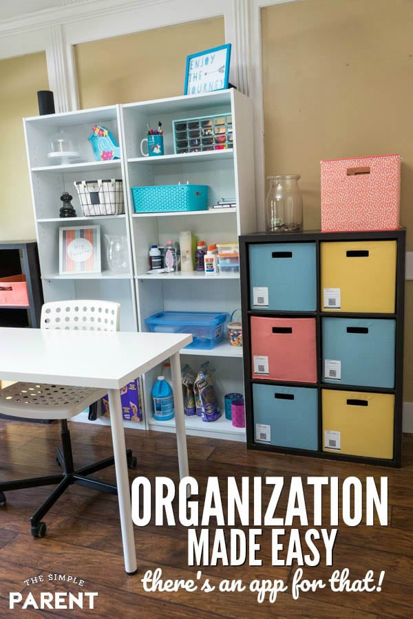 Home organization is made easy with Duck Pack and Track app and labels. You can use them in your craft room, garage. attic, and more! The organization labels are also great for moving to a new home!