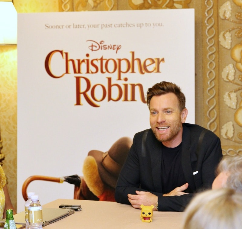 Interviewing Ewan McGregor about Christopher Robin