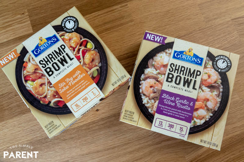 Gorton's Shrimp Bowls flavors