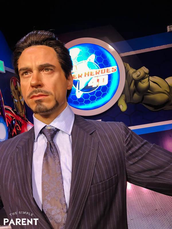Marvel Superheroes at Madame Tussauds Hollywood