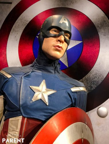 Marvel Superheroes at Madame Tussauds Hollywood