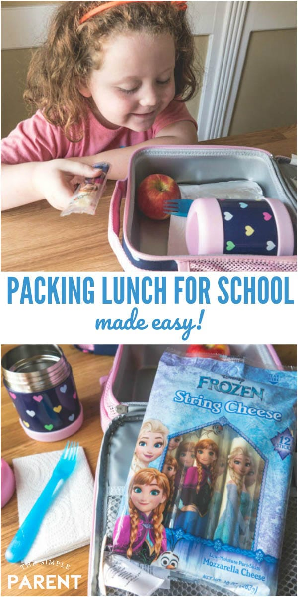 Packing lunch for school for kids is easy with these simple ideas! These tips even work for picky eaters! Check out how to keep it fresh the entire school year!