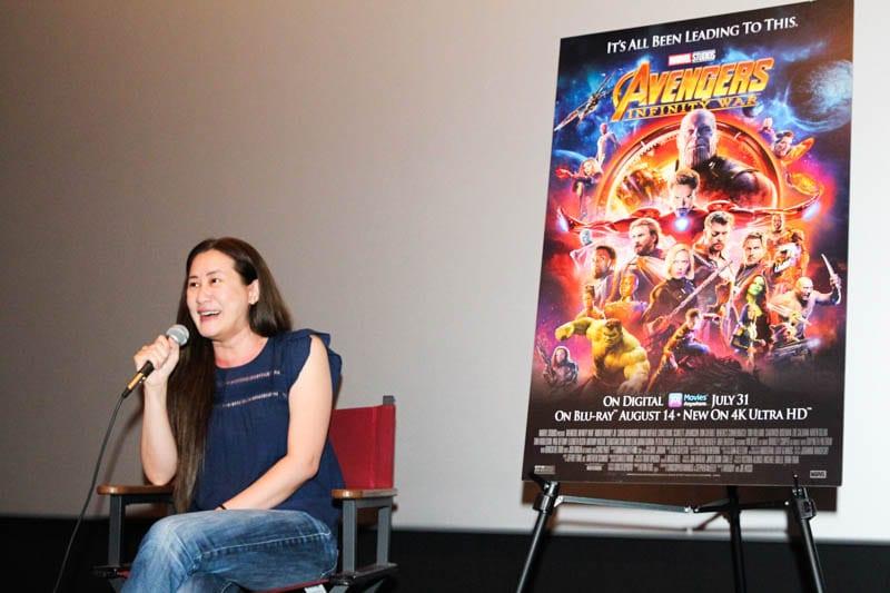 Avengers: Infinity War Trinh Tran interview