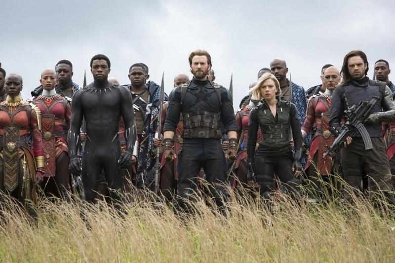 Characters of Avengers: Infinity War
