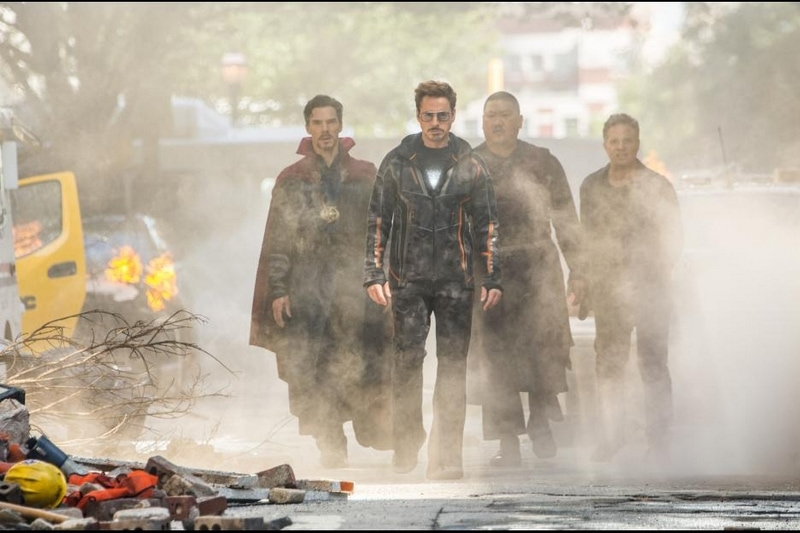 Male characters of Avengers: Infinity War