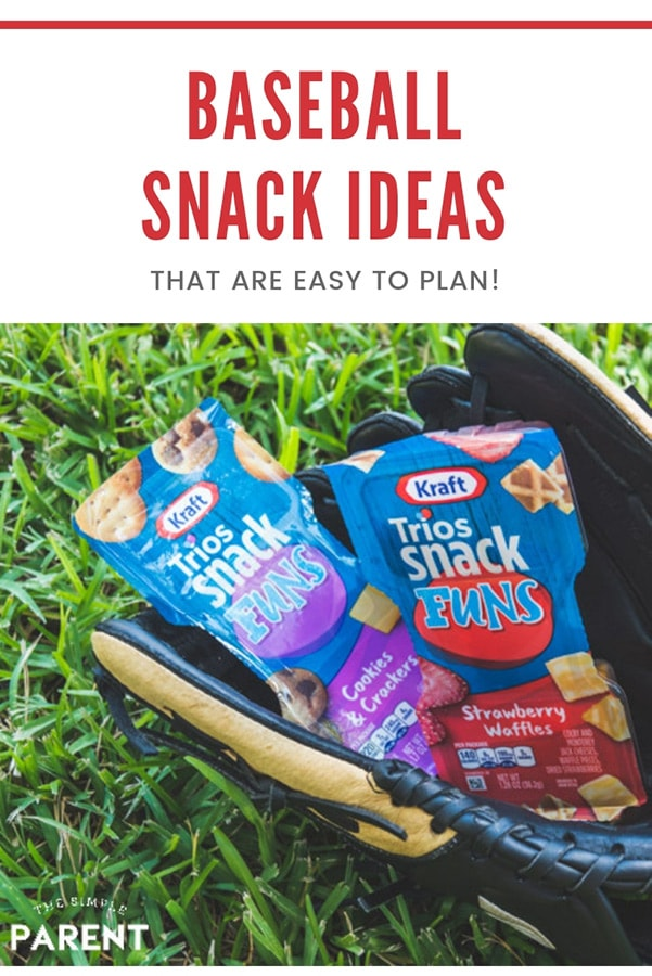 Baseball snack ideas for kids don't have to be complicated. Little League is supposed to be fun and all the kids want after the game is food! So help the team mom out and bring some healthy and EASY team snacks!