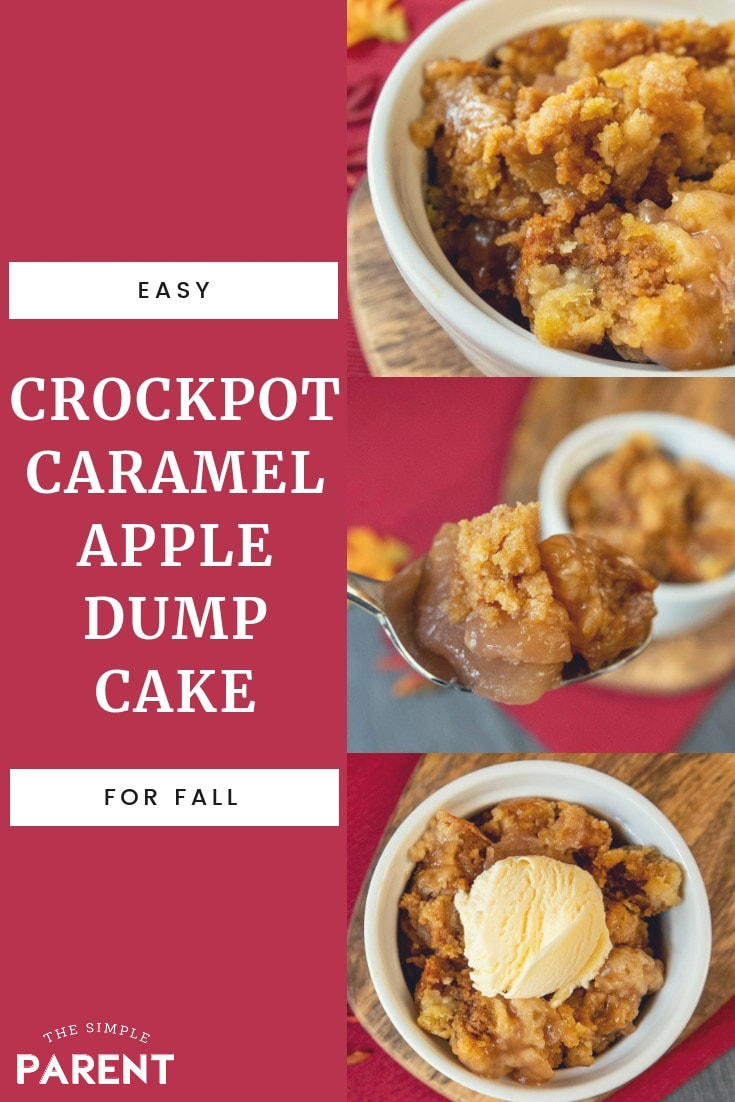 Easy Dump Cake Apple