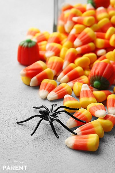 Halloween candy for Halloween games for kids