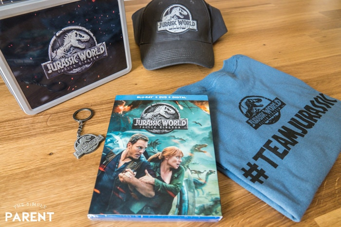 Jurassic World movie and merchandise